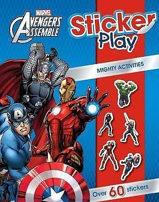 Marvel Avengers Assemble Sticker Play Mighty Activities   BRAND NEW BOOK  A27