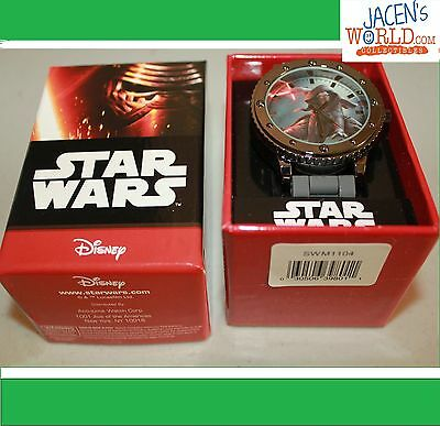 Kylo Ren Watch Star Wars Accutime Disney Adult