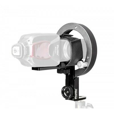 Montura adaptadora Bowens HS Speed Mount II para flash compacto | Bargain Fotos