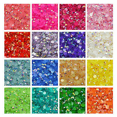 3/4mm Iridescent AB Diamantes Rhinestones Embellishments Gems Decoden Nail Art