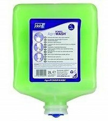 DEB Agro Powder Wash Hand Cleaner 2Ltr (4) Industrial Hand Cleaner