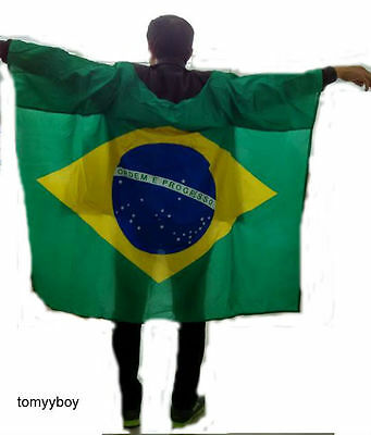 Body flag Sleeve Brazil Football Soccer Large Quantities All Countries Sport