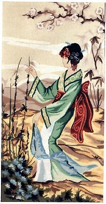 Gobelin L Printed Tapestry/Needlepoint Canvas - Oriental Panel 3
