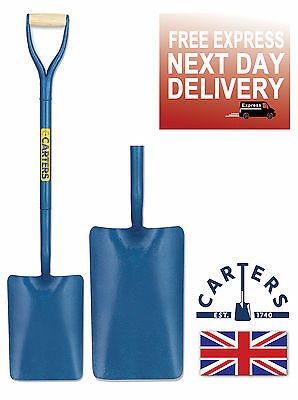 Carters Tapermouth Builders Contractors Shovel Spade Square Mouth Sand Concrete