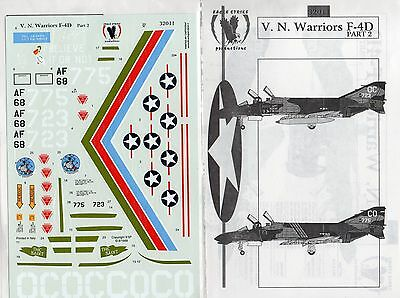 EAGLE STRIKE PRODUCTIONS 32011 - DECALS 1/32 V. N. WARRIORS F-4D Pt. 2