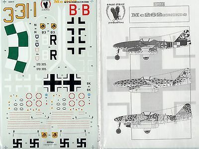 EAGLE STRIKE PRODUCTIONS 32017 - DECALS 1/32 Me262 STURMBIRDS