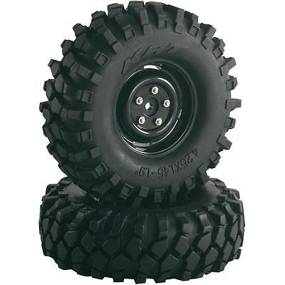 """Absima 1/10th Scale Crawler Steelhammer 1.9"""" Wheels and tyres (2) 108mm 2500030"""