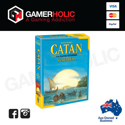 Genuine Catan 5th Edition Board Game Seafarers 5-6 player Extension Brand New