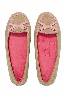 Ladies Peter Alexander Super Comfy Moccasin slippers Size 6 7 8 9 10   BNWT