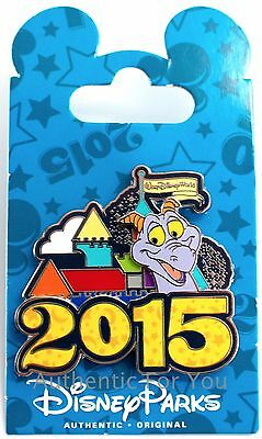 NEW Walt Disney World 2015 Cinderella Castle Figment Dragon Trading Pin - Parks