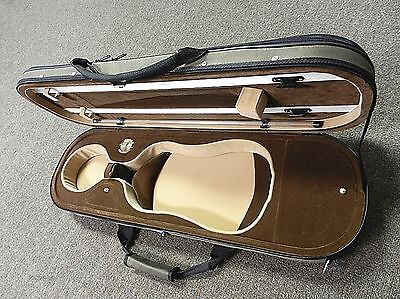 Oblong Lightweight Violin Case,High Quality Violin Case, 4/4 Full Size, NEW