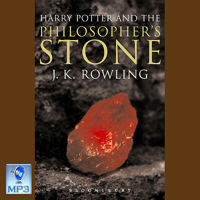 HARRY POTTER AND THE PHILOSOPHER'S STONE  - JK Rowling -UNABRIDGED MP3 CD UK FRY
