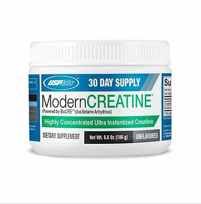 USP Labs MODERN CREATINE 30 Servings *UNFLAVORED* Ultra Instantized Creatine