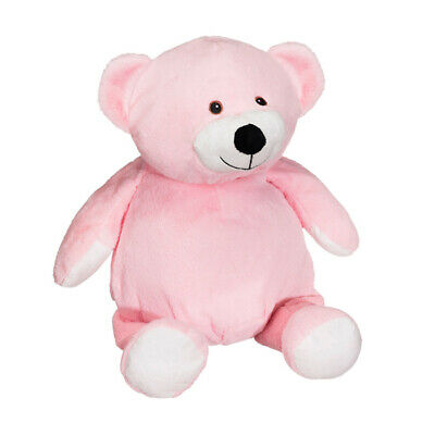 Pink Mister Buddy Bear 16 inch Embroider Buddy Plush Toy