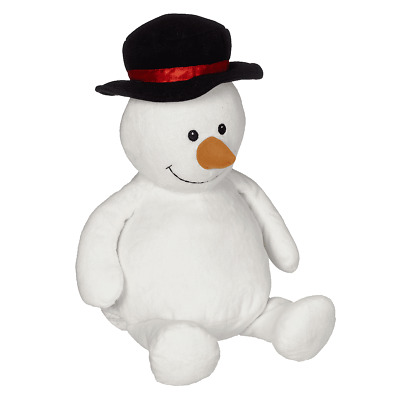 Sonny Snowman 16 inch Embroider Buddy Plush Toy