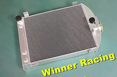 70mm up to 1000HP aluminum radiator for Ford truck hot rod w/305 V8 engine 1932