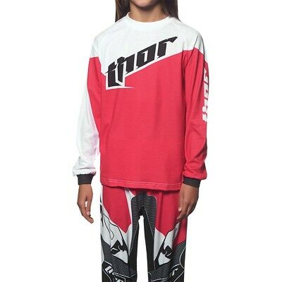 Thor NEW Mx Youth Baby PJ's Tilt Pink 2 Piece Girls Toddler Motocross Pajamas