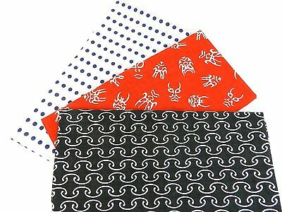 Japanese traditional towel TENUGUI  COTTON NEW 3 SET MADE IN JAPAN (12)