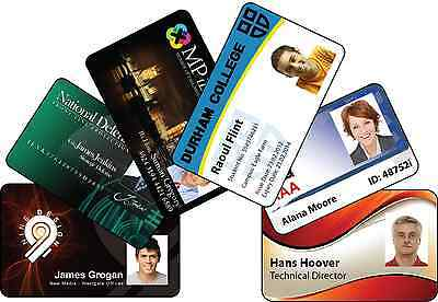 Photo Personalized Custom ID, Membership - Business Card - Plastic Card Printing