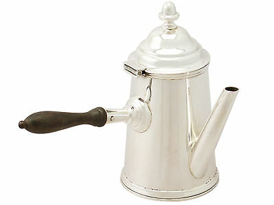 Sterling Silver Coffee Pot - George I Style - Antique Edwardian