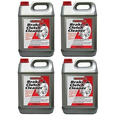 Polygard Brake & And Clutch Cleaner 4 Cans 5 Litre