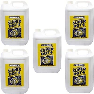 Polygard MIS10410 Super Dot 4 Brake & Clutch Fluid 20 Litre