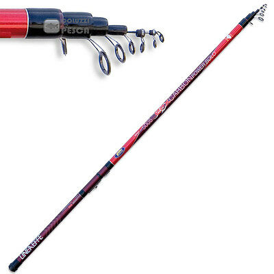 Canna Lineaeffe Epx Carbon Power Bolo 6 M Pesca Bolognese Carbonio Mare Fiume