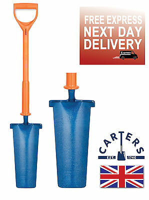 Carters Newcastle Drainer Grafter Post Shovel Spade Shocksafe Insulated Bs8020: