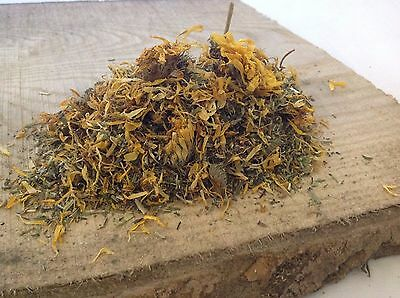 Cleavers and Marigold 900g herbs for horses NaturaPhatic