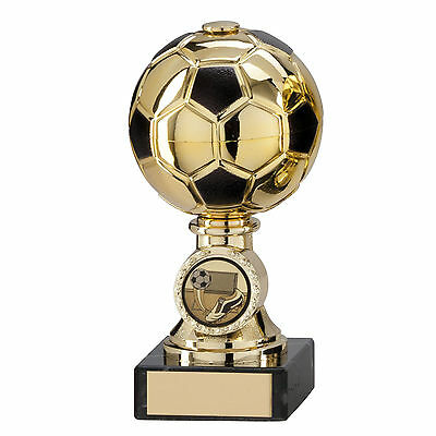 Football Trophies Gold Sienna Ball Football Award 5 sizes FREE Engraving