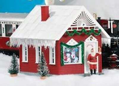 PIKO 62703 G Scale Santa's House, Built Up  - NEW!!!