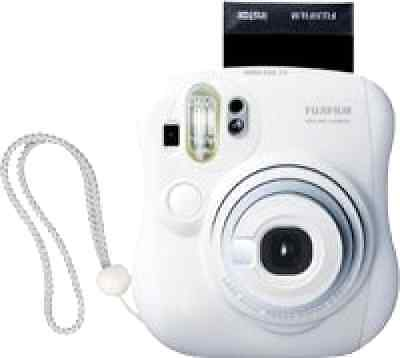 Fujifilm Instax MINI 25 Instant Film Polaroid Camera Picture Photo (White) NEW