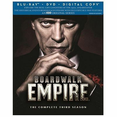 Boardwalk Empire: Complete Third Season (Blu-ray + DVD - Digi, 2013, 7-Disc Set)