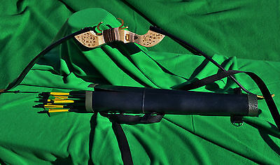 Green Arrow Season 1 Bow, Quiver, Arrow set