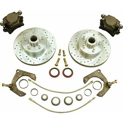 Mustang II Disc Brake Kit Ford Bolt Pattern 2 ifs front end caliper suspension
