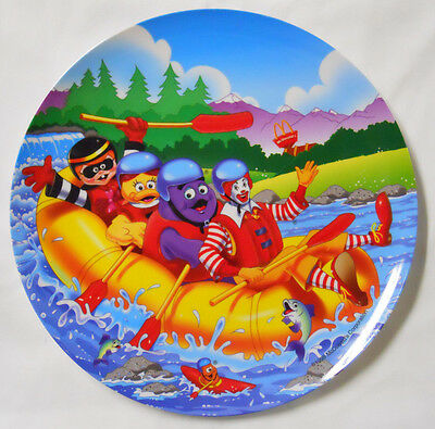 1998 McDonald's Collectible Plate-River Rafting-Raft