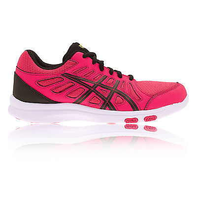 Asics Ayami-Shine Femme Chaussures De Cross Training Gym Baskets De Sport Rose