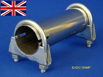 """Exhaust Sleeve Adapter Connector Pipe Stainless Tube 35mm (1.3/8"""") I.D. EAS013"""