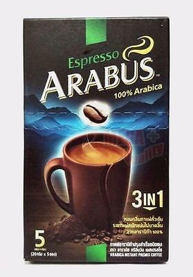 Espresso ARABUS Mix Powder 3 IN 1 100% Arabica Instan Premix Coffee 5 Sachets