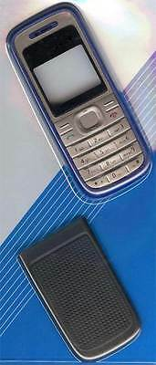 New! Blue Grey Housing /Fascia /Cover /Case for Nokia 1200