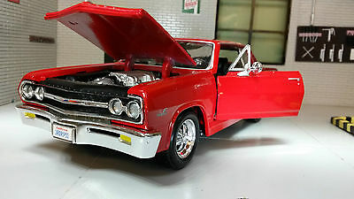 G LGB 1:24 Scale Chevrolet Malibu SS 1965 Maisto Diecast Model Car 31258