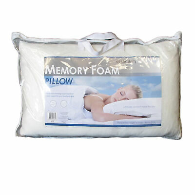 Visco Memory Foam Standard Pillow by Essentially Home Living