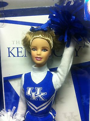 Barbie Collector Doll University of Kentucky Cheerleader 2013 NIB!!