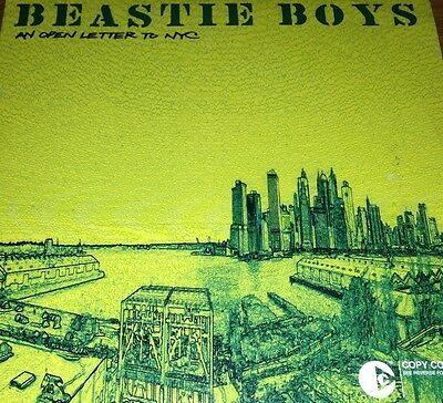 Beastie Boys An Open Letter To NYC CD Single Super Rare 2004 To The 5 Boroughs