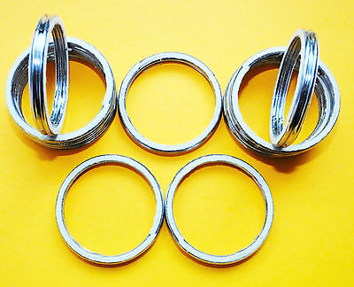 YZF 600 Thunder Cat MT03 R6 ALLOY EXHAUST GASKETS SEAL MANIFOLD GASKET RING A42