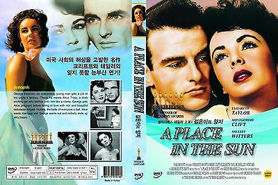 A Place In The Sun,1951 (DVD,All,Sealed,New) Elizabeth Taylor