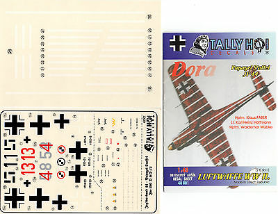 Tally Ho! 48001 - Decals 1/48 Papagei Staffel Jv 44