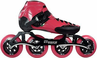 Luigino Strut Inline Skate Package Pink and Black Size 1-9