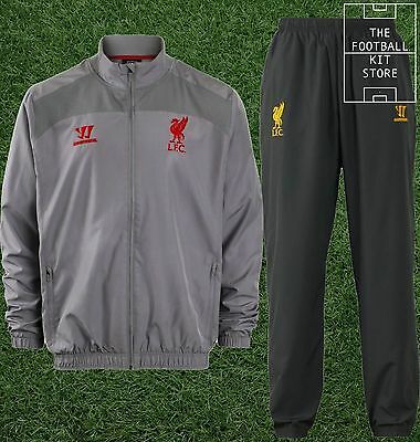 Liverpool Tracksuit - Warrior LFC Football Presentation Suit - Boys - All Sizes