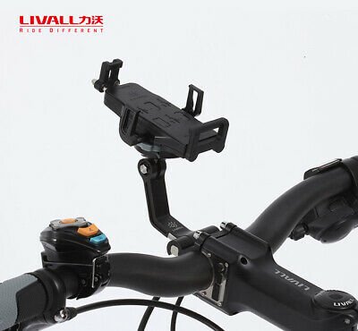 LIVALL S2 360° Rotation Cycling Bicycle Smart Phone 5000mAh Charger Mount Holder